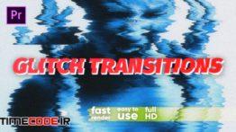 دانلود پریست پریمیر : ترنزیشن نویز و پارازیت Top Glitch Transitions