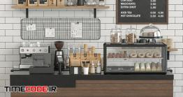 دانلود مدل آماده سه بعدی : کافی شاپ Coffeeshop