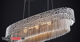 دانلود مدل آماده سه بعدی : لوستر Crystal Lux Fashion SP5 L100