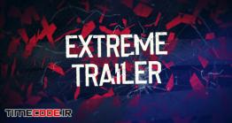 دانلود پروژه آماده پریمیر : تریلر ورزشی Destruction Sport Trailer