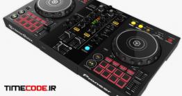 دانلود مدل آماده سه بعدی : دستگاه دی جی DJ Controller DDJ-400