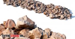 دانلود مدل آماده سه بعدی : سنگ Stone Beach (15 Meters