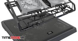 دانلود مدل سه بعدی : فن زیر لپ تاپ 4 Laptop Coolers