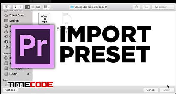 How To Install Presets In Adobe Premiere Pro