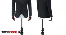 دانلود مدل آماده سه بعدی : کت مردانه Jacket