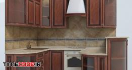 دانلود مدل آماده سه بعدی : آشپزخانه Kitchen Klio