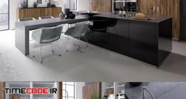 دانلود مدل سه بعدی : آشپزخانه Kitchen NOLTE Legno