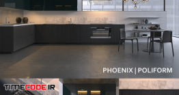 دانلود مدل سه بعدی : آشپزخانه Kitchen Poliform Varenna Phoenix 3