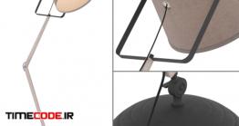دانلود مدل آماده سه بعدی : چراغ مطالعه Lampgustav Legend