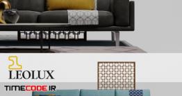 دانلود مدل سه بعدی : مبلمان LEOLUX Bellice