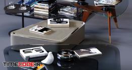 دانلود مدل سه بعدی : میز MolteniC Coffee Tables Set