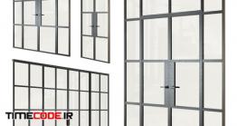دانلود مدل سه بعدی : پنجره OM Partitions In Loft Style Set