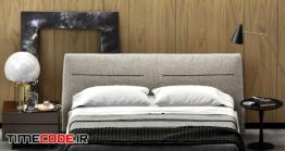دانلود مدل سه بعدی : تخت خواب POLIFORM JACQUELINE BED