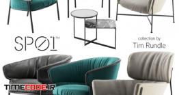 دانلود مدل سه بعدی : صندلی SPO1 Tim Rundle Collection