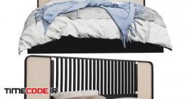 دانلود مدل آماده سه بعدی : تخت خواب Wiener (GTV) Design – OttoW Bed