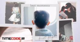 دانلود پروژه آماده پریمیر : آلبوم عکس سه بعدی 3D Memories Album