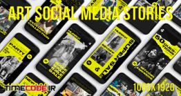 دانلود پروژه آماده پریمیر : استوری اینستاگرام Art Social Media Stories
