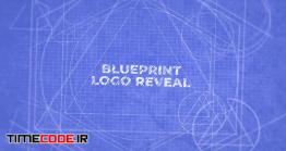 دانلود پروژه آماده فاینال کات پرو : لوگو طراحی Blueprint Logo Reveal