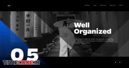 دانلود پروژه آماده پریمیر : معرفی خدمات و محصولات Clean Corporate Minimalist Presentation