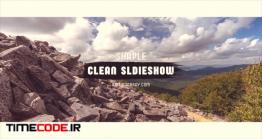دانلود پروژه آماده پریمیر : اسلایدشو Clean Slideshow