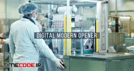 دانلود پروژه آماده پریمیر : وله دیجیتال Digital Modern Opener
