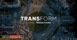 دانلود پروژه آماده فاینال کات پرو : ترنزیشن Digital Mosaic Transitions