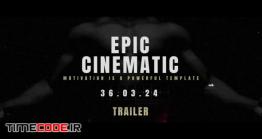 دانلود پروژه آماده پریمیر : تیزر سینمایی Epic Cinematic Trailer