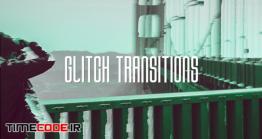 دانلود پروژه آماده فاینال کات پرو : ترنزیشن نویز و پارازیت Glitch Transitions