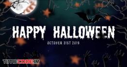 دانلود پروژه آماده افترافکت : اسلایدشو هالووین Halloween Slideshow