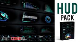 دانلود پروژه آماده داوینچی ریزالو HUD Elements Pack