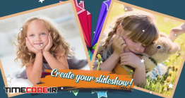دانلود پروژه آماده پریمیر : اسلایدشو کودک Kids Slide