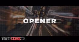 دانلود پروژه آماده فاینال کات پرو : وله Logo Reveal – Strips Opener
