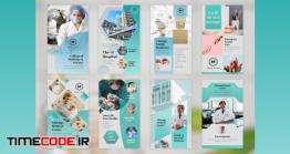 دانلود پروژه آماده پریمیر : استوری اینستاگرام پزشکی Medical Instagram Stories Pack