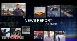 دانلود پروژه آماده افترافکت : وله خبری News Report Opener