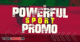 دانلود پروژه آماده پریمیر : وله ورزشی Powerful Sport