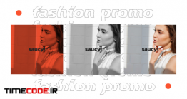 دانلود پروژه آماده پریمیر : فشن و شو لباس Saucy – Fashion Promo
