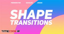 دانلود پروژه آماده پریمیر : ترنزیشن فانتزی اشکال Shape Transitions