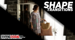 دانلود پروژه آماده فاینال کات پرو : ترنزیشن Shape Transitions