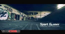 دانلود پروژه آماده پریمیر : وله ورزشی Slow Motion Sport Opener