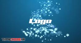 دانلود پروژه آماده پریمیر : لوگو موشن برفی Snowflakes Logo Reveal