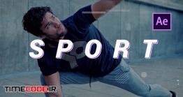 دانلود رایگان پروژه آماده پریمیر : وله ورزشی Sport Cinematic Opener