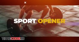دانلود پروژه آماده فاینال کات پرو : وله ورزشی Sport Opener