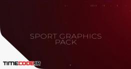دانلود پروژه آماده پریمیر : المان های گرافیکی پخش فوتبال Sport Pack