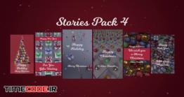 دانلود پروژه آماده داوینچی ریزالو : استوری کریسمس Stories Pack 4: Christmas