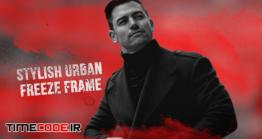 دانلود پروژه آماده پریمیر : اسلایدشو با افکت فیکس فریم Stylish Urban Freeze Frame