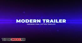 دانلود پروژه آماده فاینال کات پرو : تریلر Trailer For FCP X