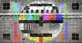 دانلود پروژه آماده پریمیر : ترنزیشن نویز و برفک تلویزیون TV Noise Transitions