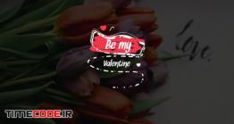 دانلود پروژه آماده پریمیر : تایتل ولنتاین Valentine's Call Out Titles