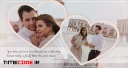 دانلود پروژه آماده پریمیر : اسلایدشو عاشقانه Valentine's Day Slideshow