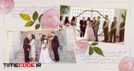دانلود پروژه آماده پریمیر : اسلایدشو عروسی Wedding Memories Slideshow